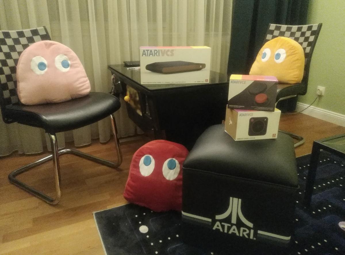 Brandneue Atari VCS Konsole endlich bei uns eingetroffen!